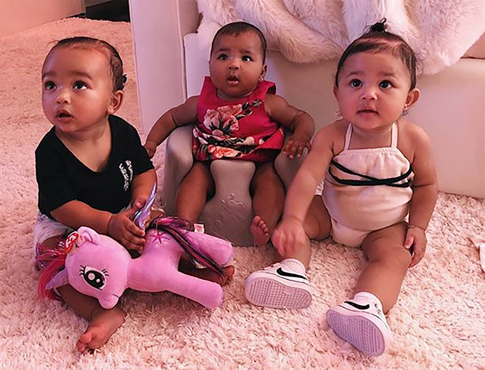 Stormi Webster, Chicago West, True Thompson