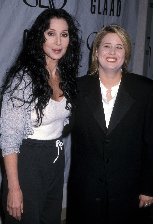 Cher y Chaz Bono