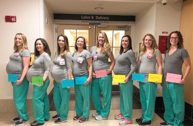 Enfermeras embarazadas1