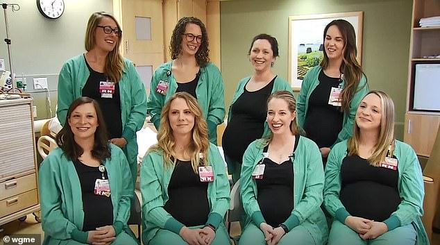 Enfermeras embarazadas4