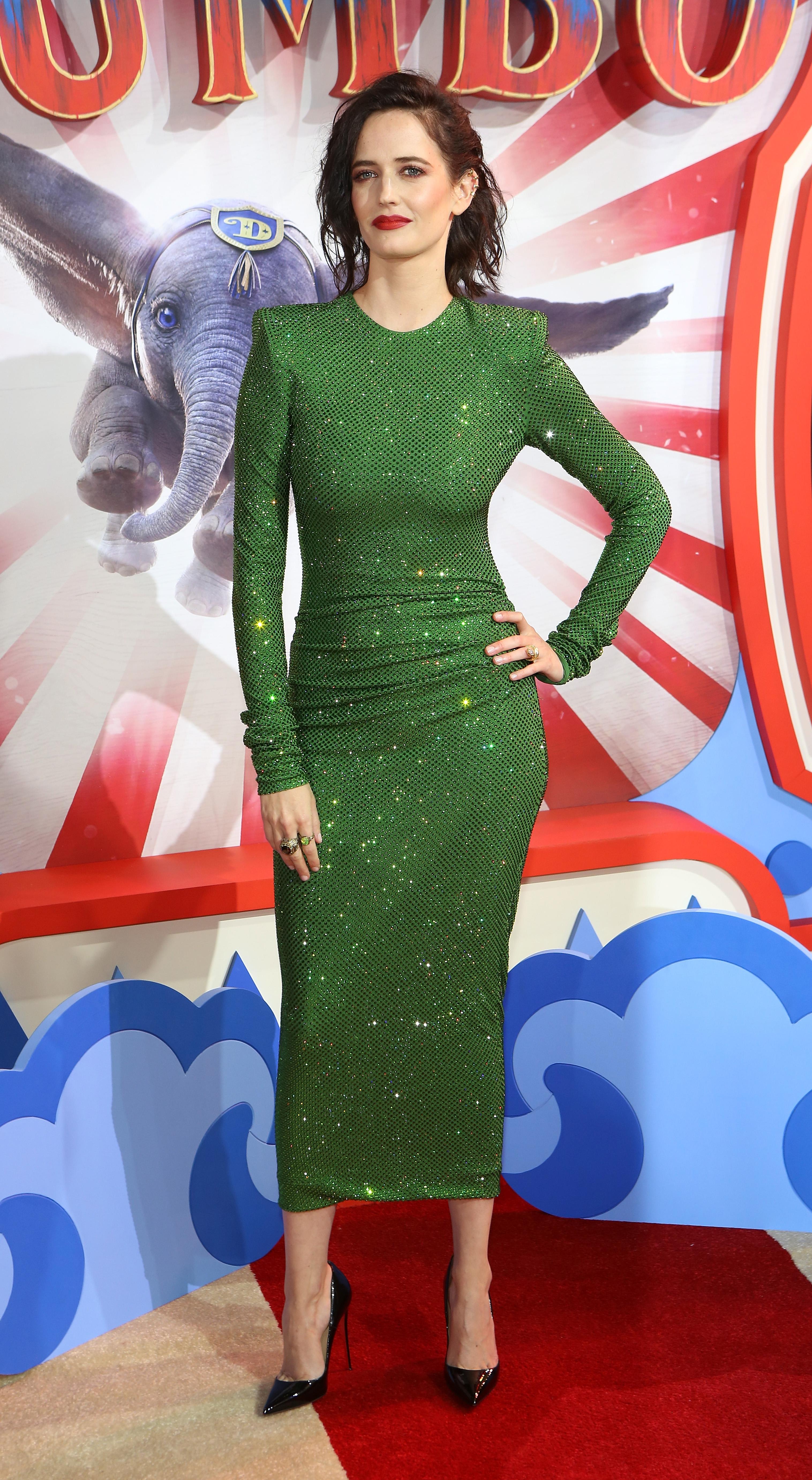 Eva Green, looks