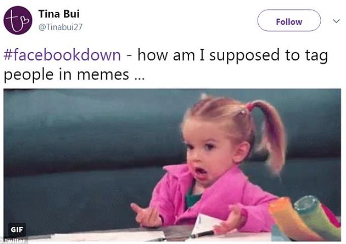 Facebook down memes2