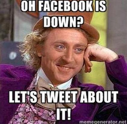 Facebook down memes4