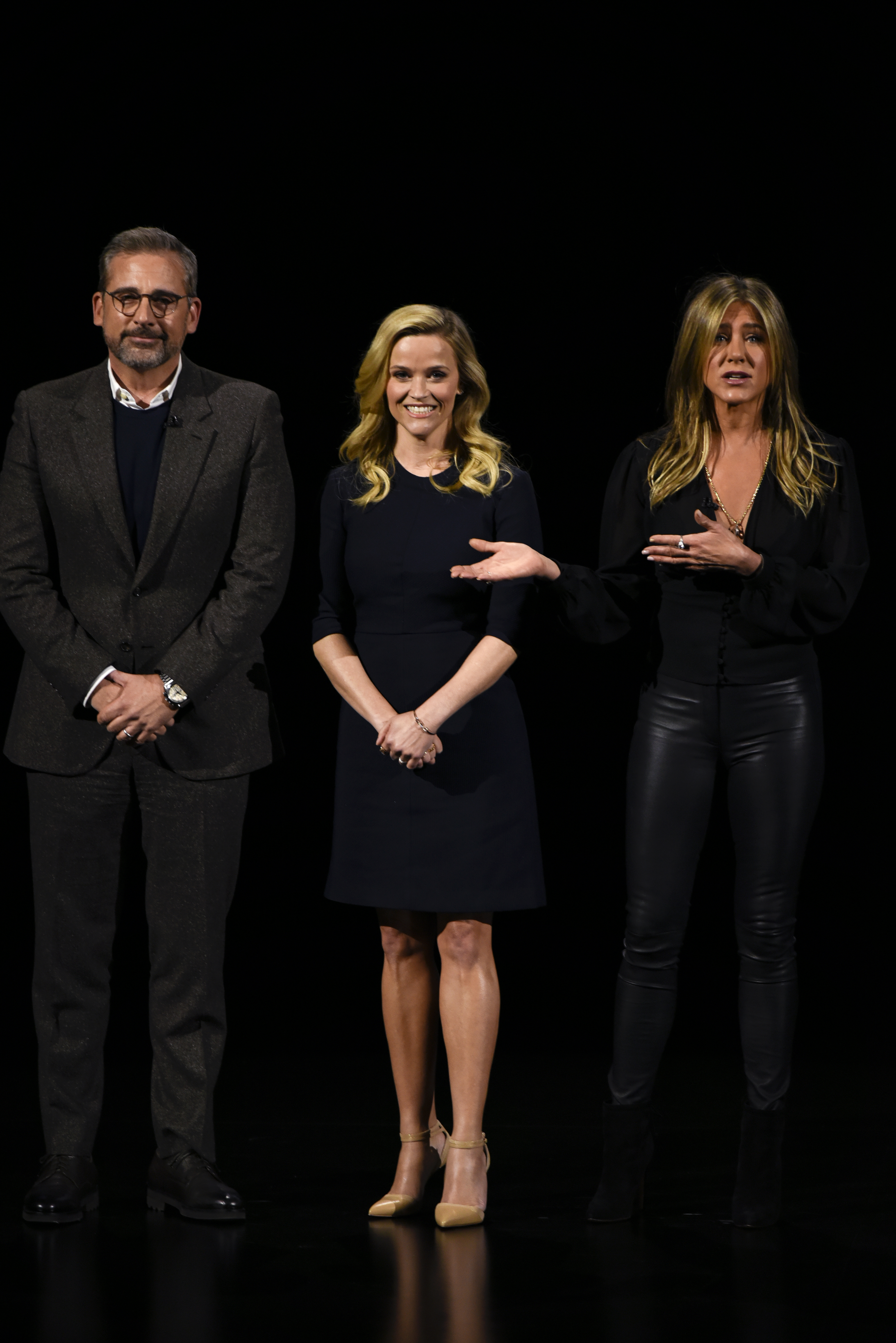 Steve Carrell, Reese Witherspoon and Jennifer Aniston