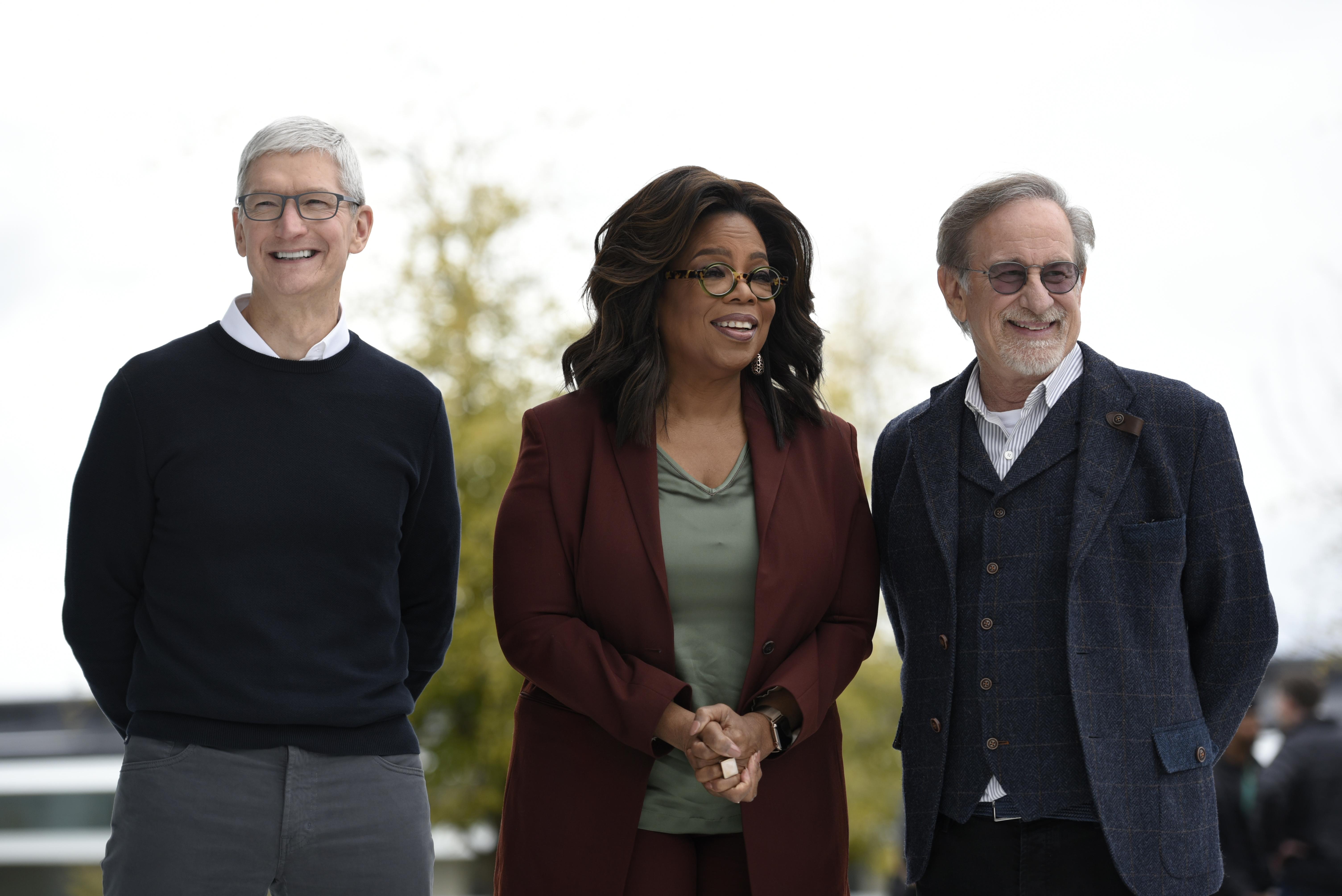 Oprah y Steven Spielberg
