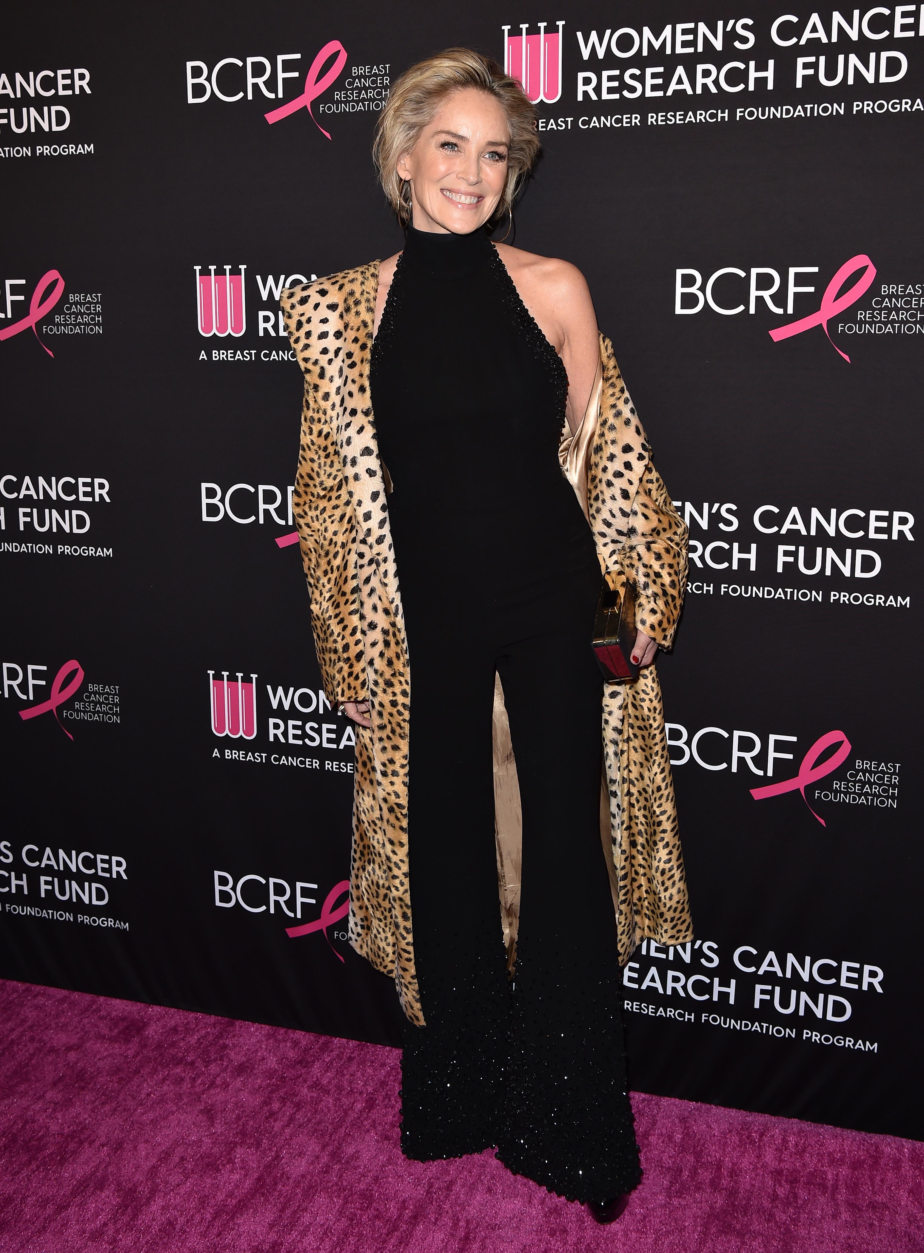 Sharon Stone, looks