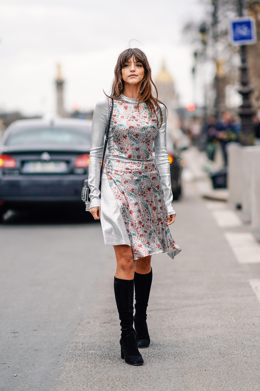 famosas, semana de la moda, parís, desfiles, estilo, street style, ootd,