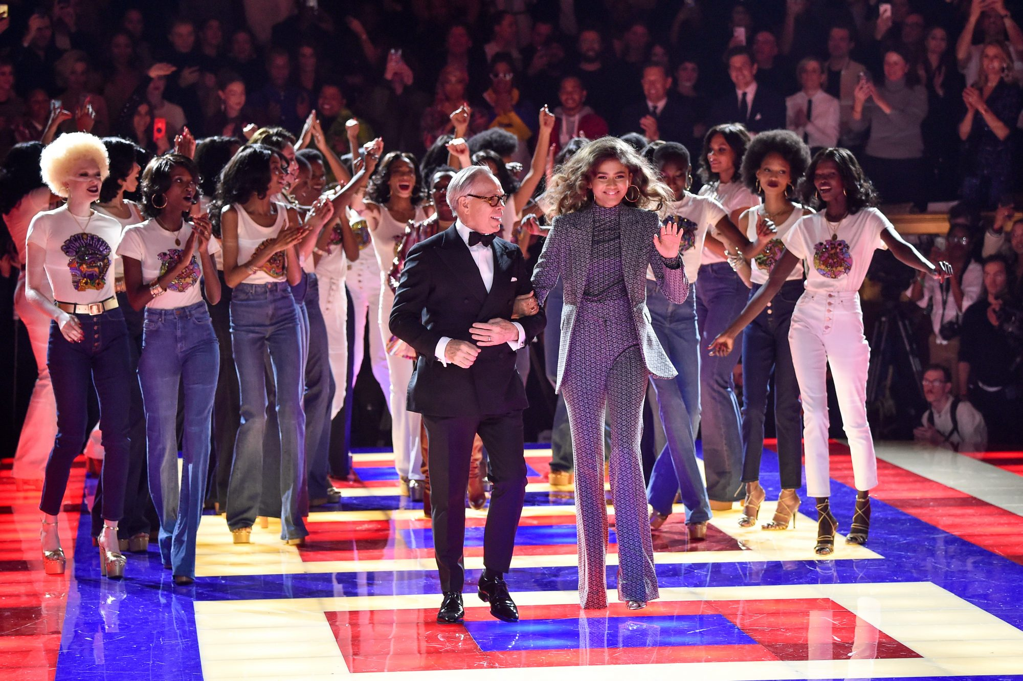 Zendaya, tommy hilfiger, coleccion, paris