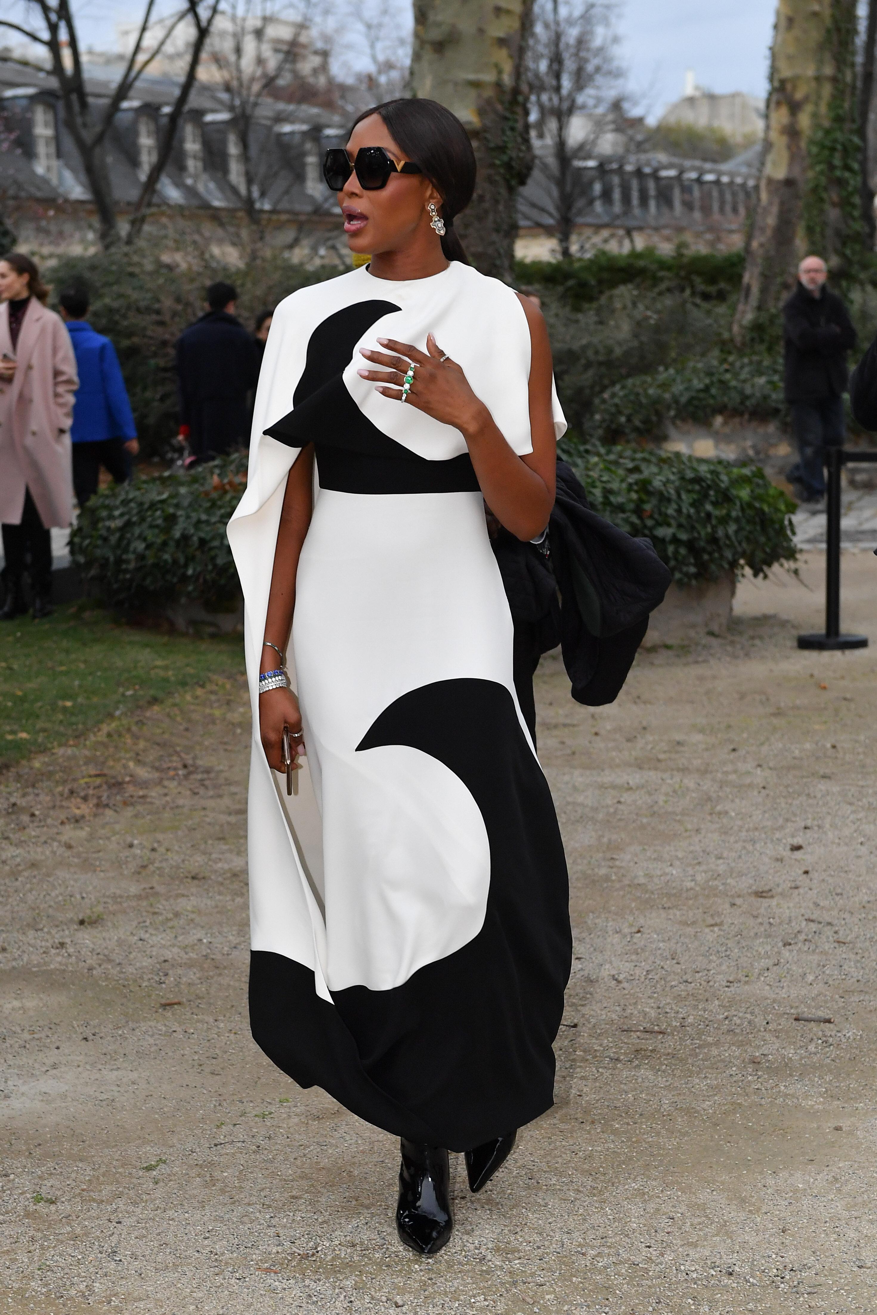 Naomi Campbell, looks