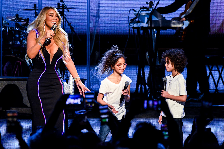 Mariah Carey, Monroe Cannon, Moroccan Cannon