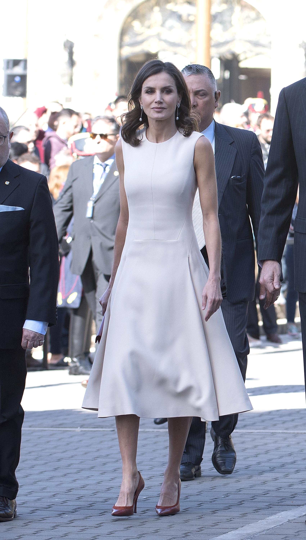 La reina Letizia, looks, buenos aires, argentina