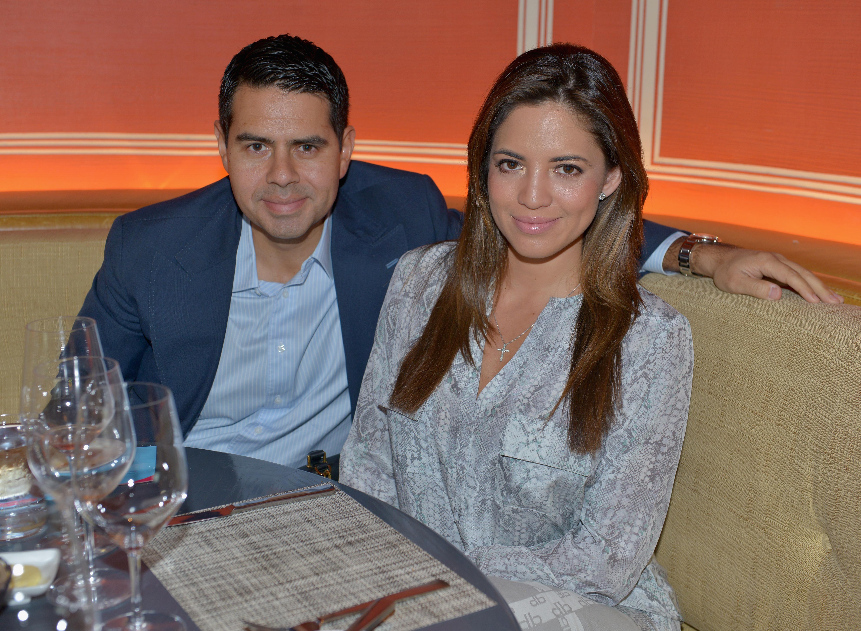 Pamela Silva-Conde y Cesar Conde