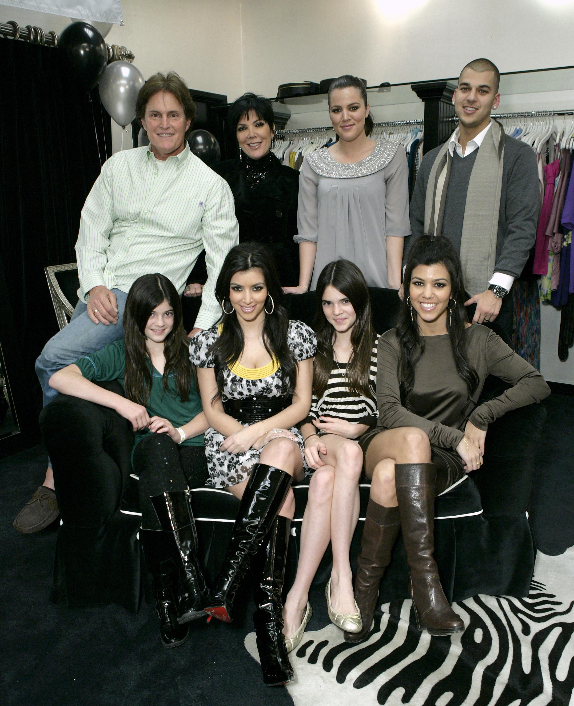 Kris Jenner, Bruce jenner, Kendall jenner, kylie Jenner, Kim Kardashian, Kourtney Kardashian, Rob kardashian, Khloe Kardashian