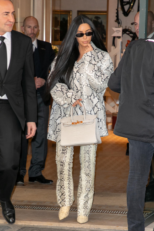 Kim Kardashian, looks, Paris