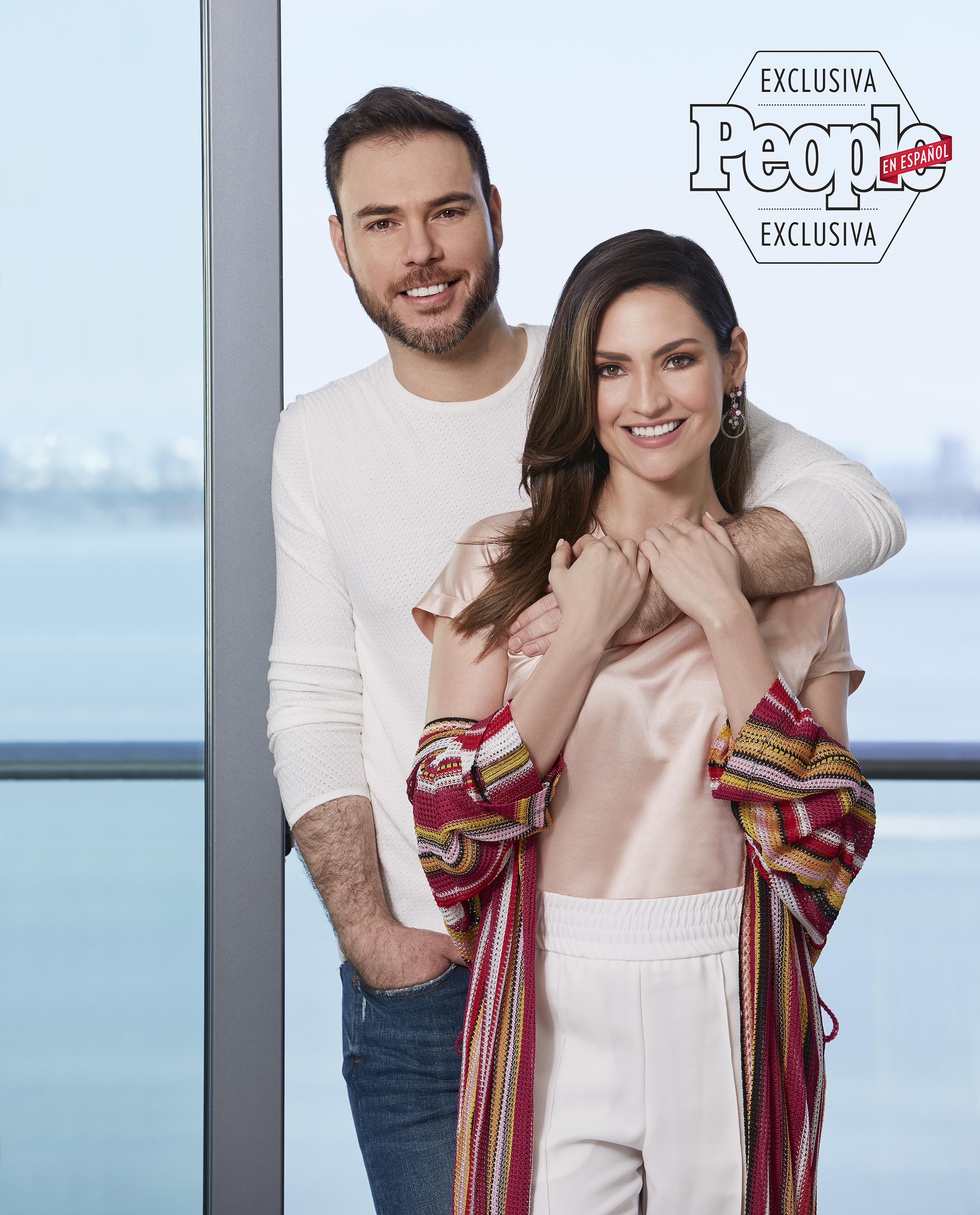 Michelle Galvan y Fernando