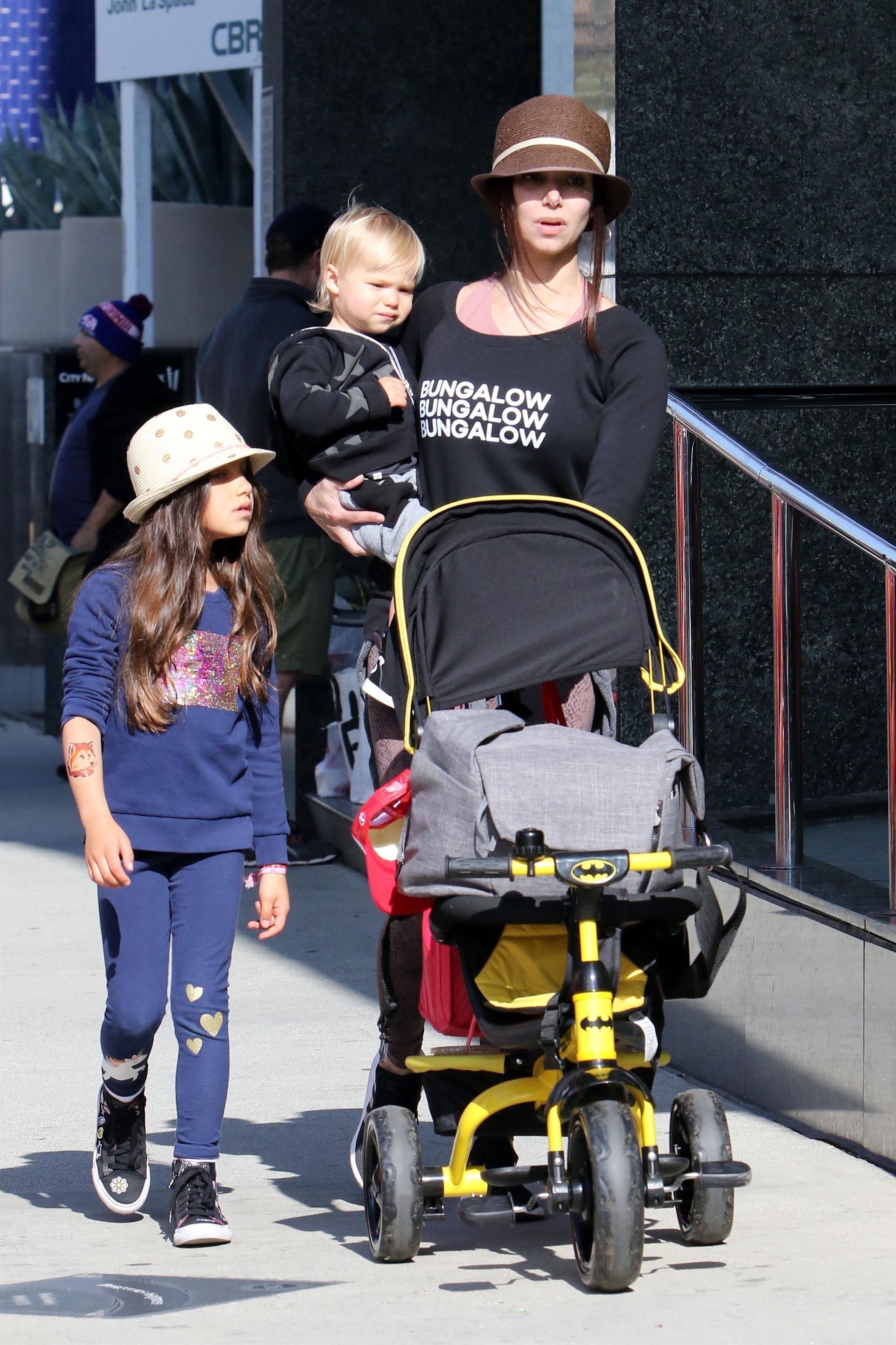 Roselyn Sanchez & kids