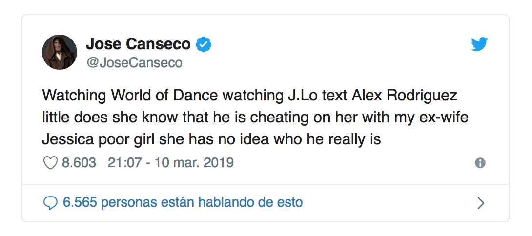 Jose Canseco/Twitter