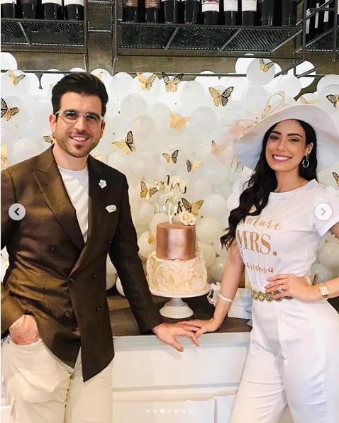 Aleyda Ortiz y su novio