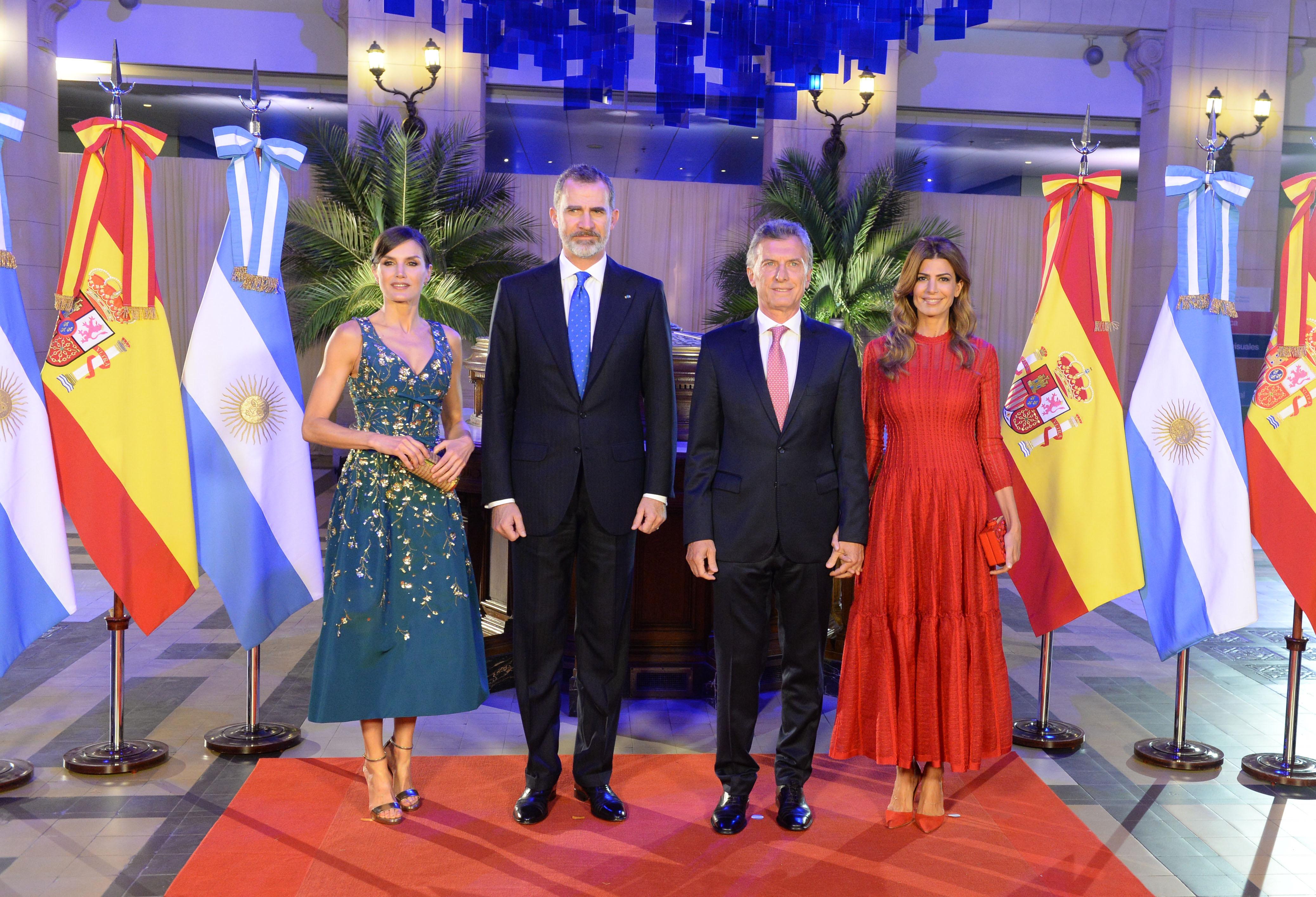 reina letizia Juliana Awada Mauricio Macri rey de España