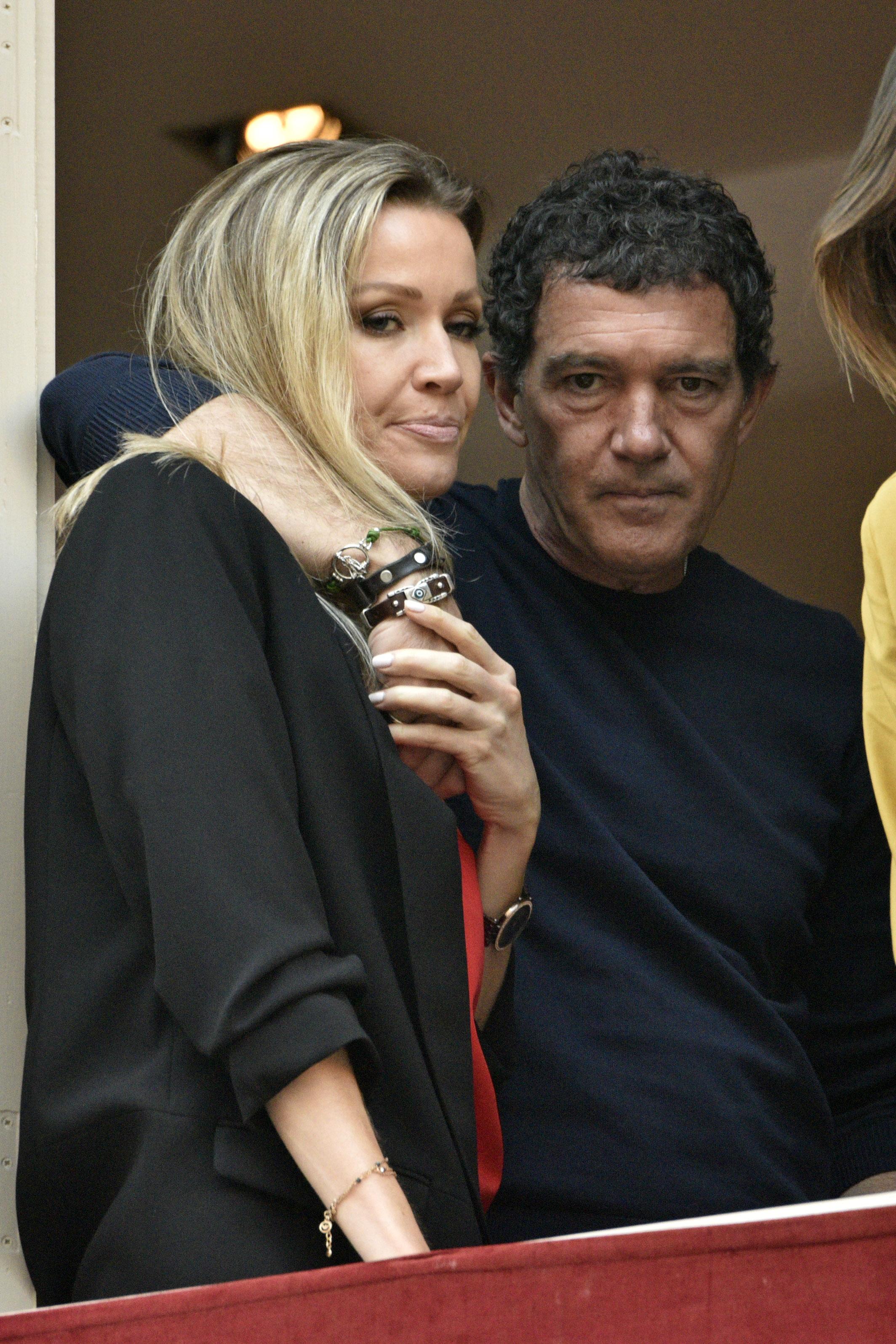 Antonio Banderas, Nicole Kimpel, Malaga