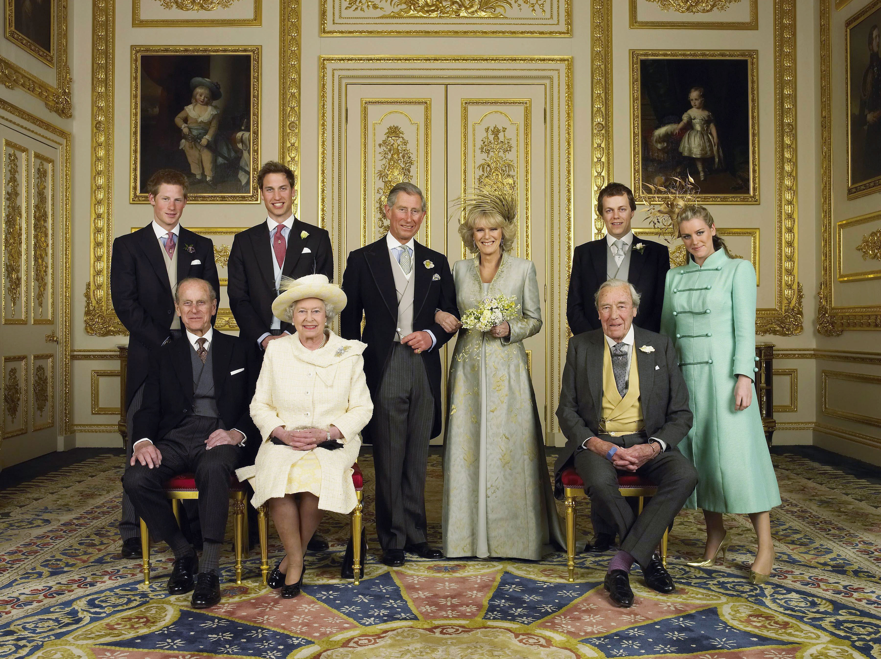 TRH Prince Charles & The Duchess Of Cornwall Attend Blessing At Windsor