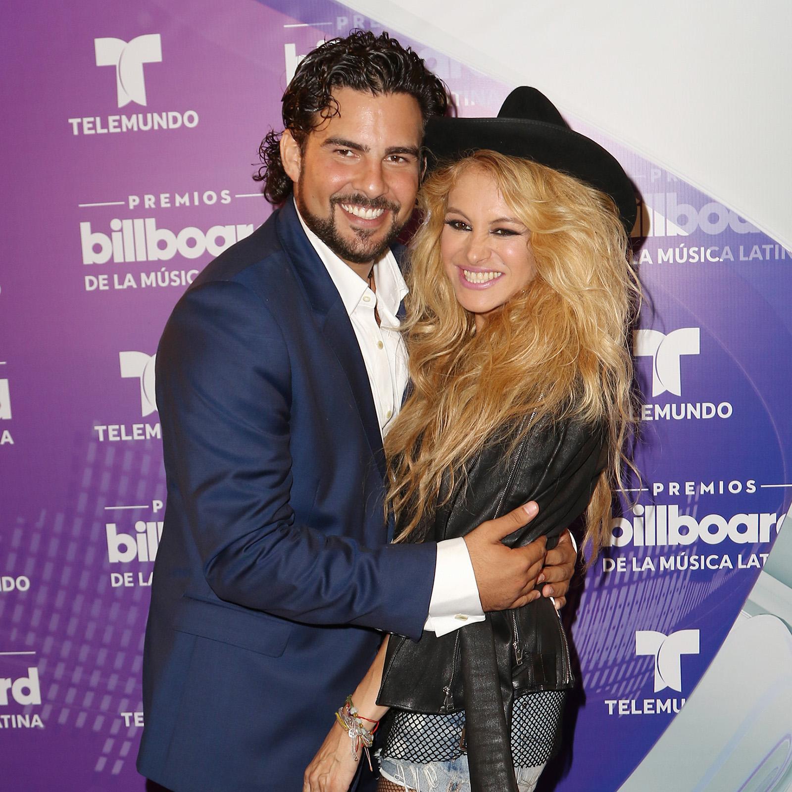 Gerardo Bazua y Paulina Rubio