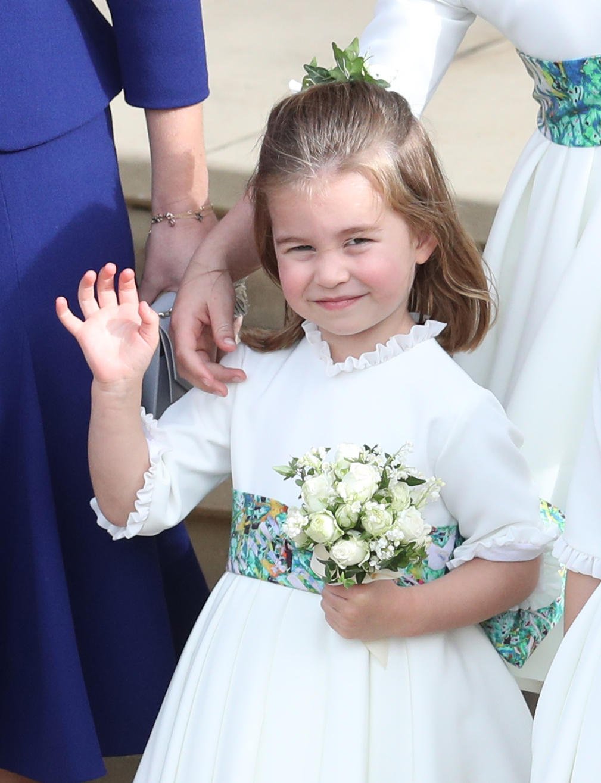 Princesa Charlotte, boda, eugenia