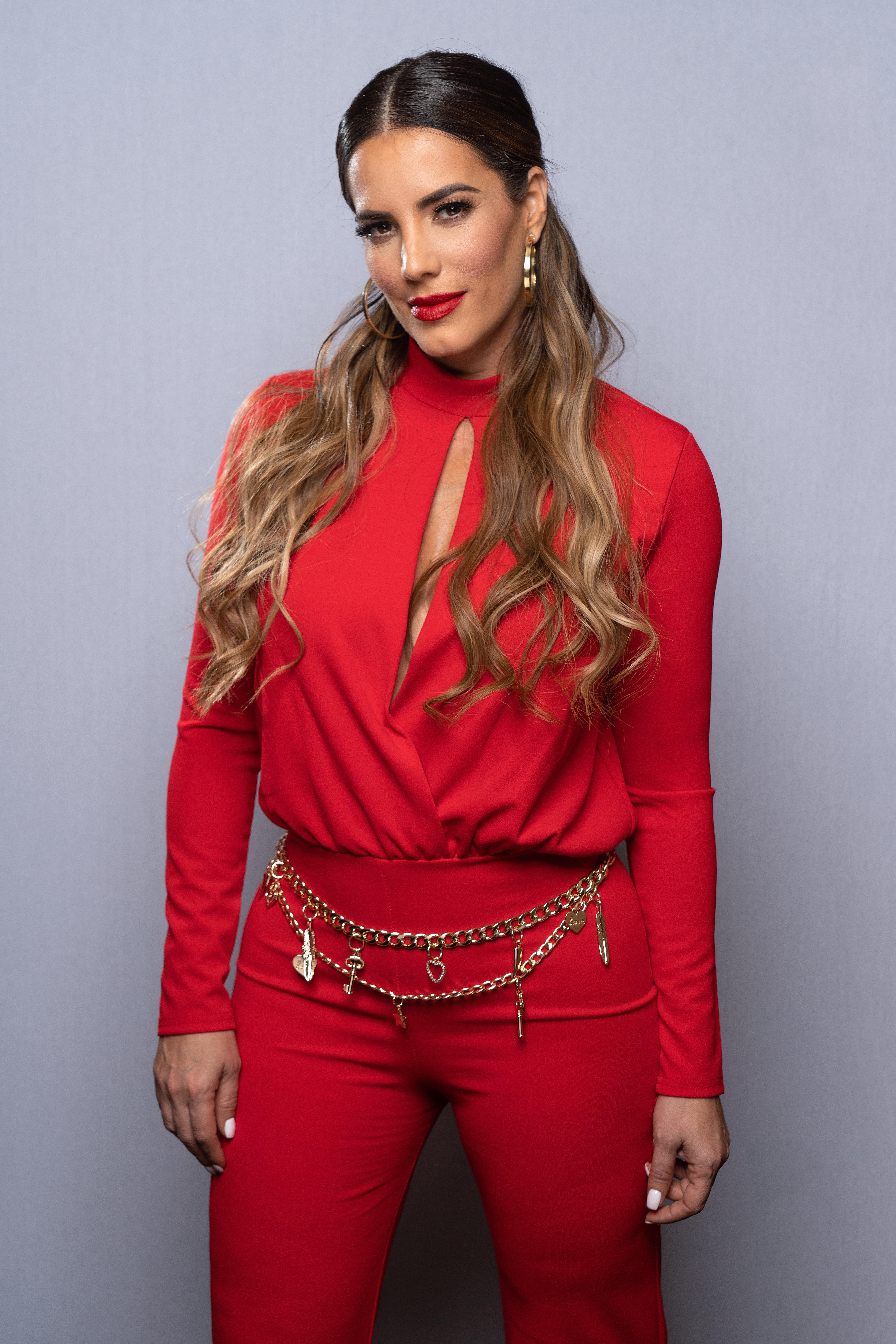Gaby Espino, estilo, look, pantalones, outfit