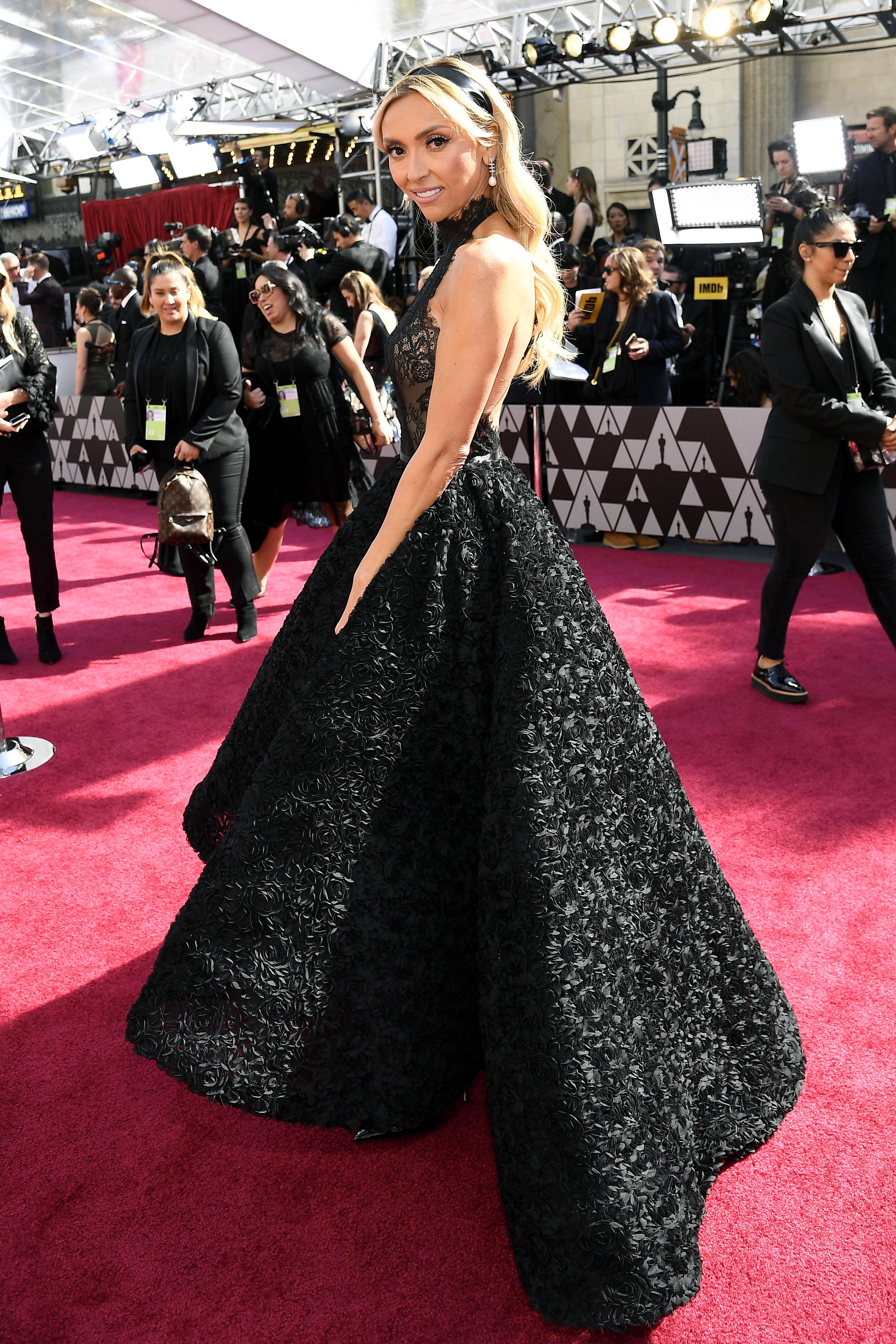 Giuliana Rancic, premios Oscar, 2019