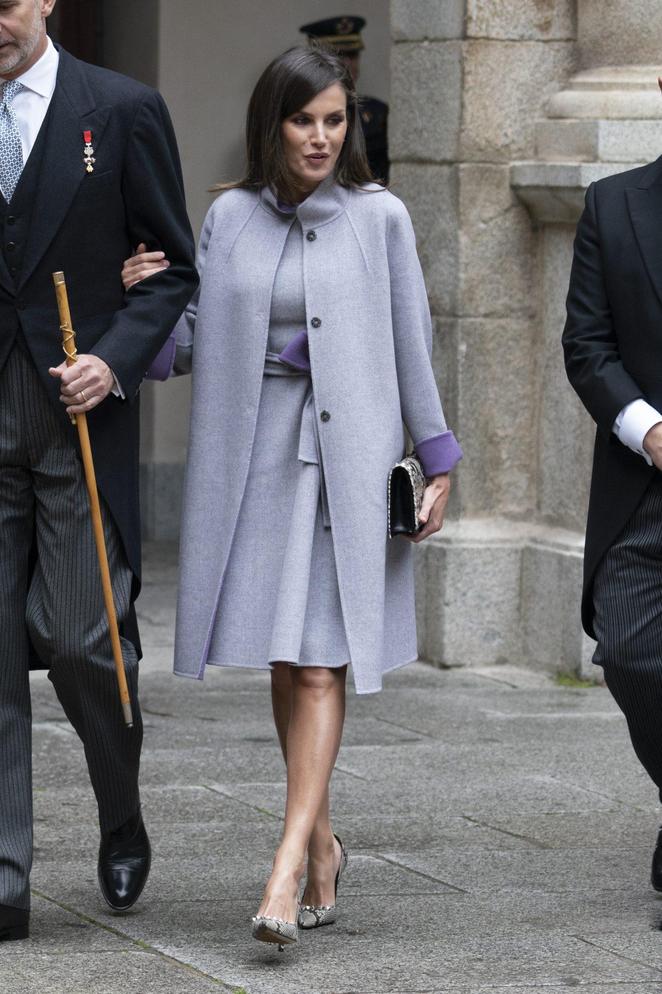 Reina Letizia, looks, vestido repetido, carolina herrera