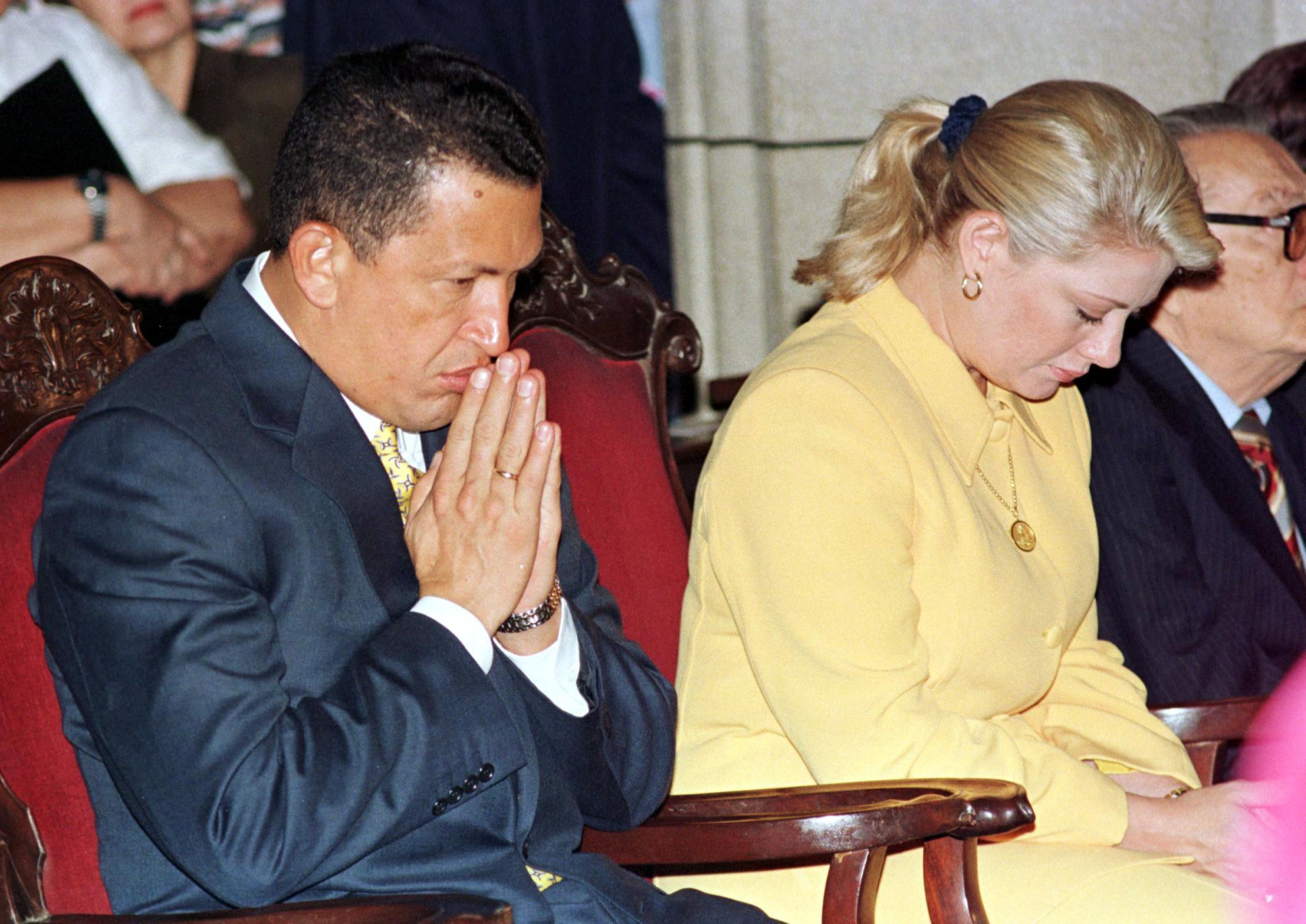 VENEZUELA-CHAVEZ-PRAYER