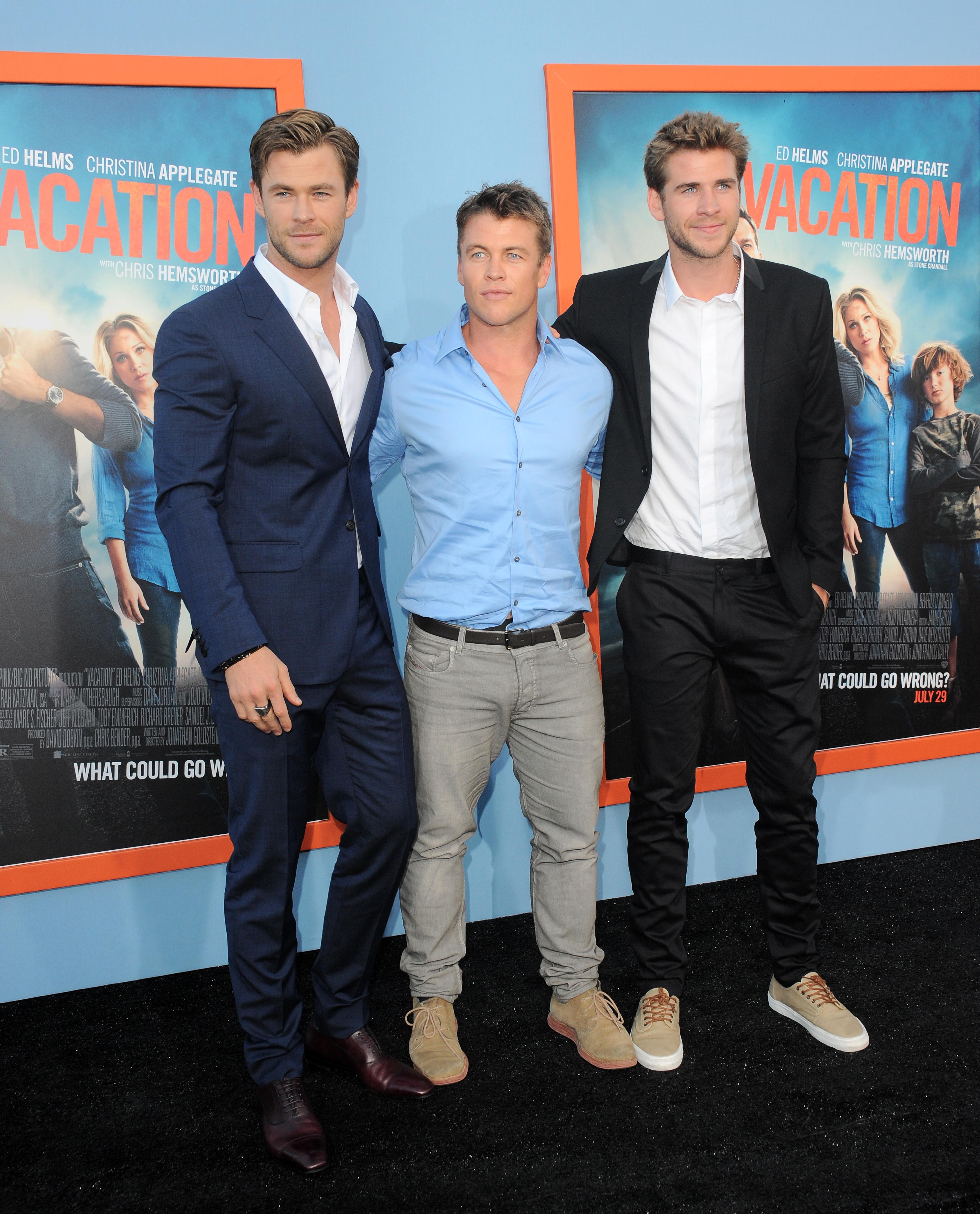 Los hermanos Hemsworth