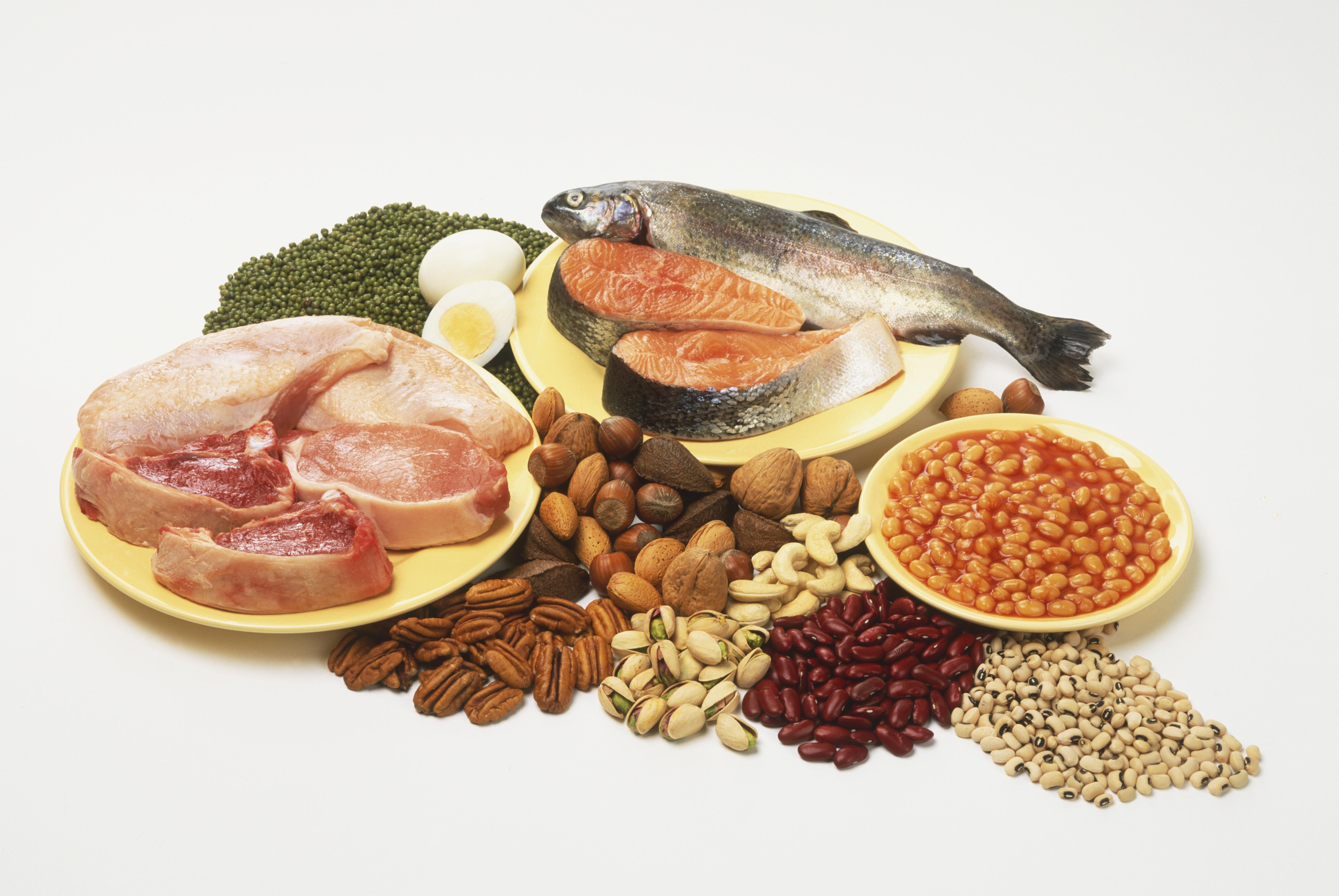 proteína, pescado