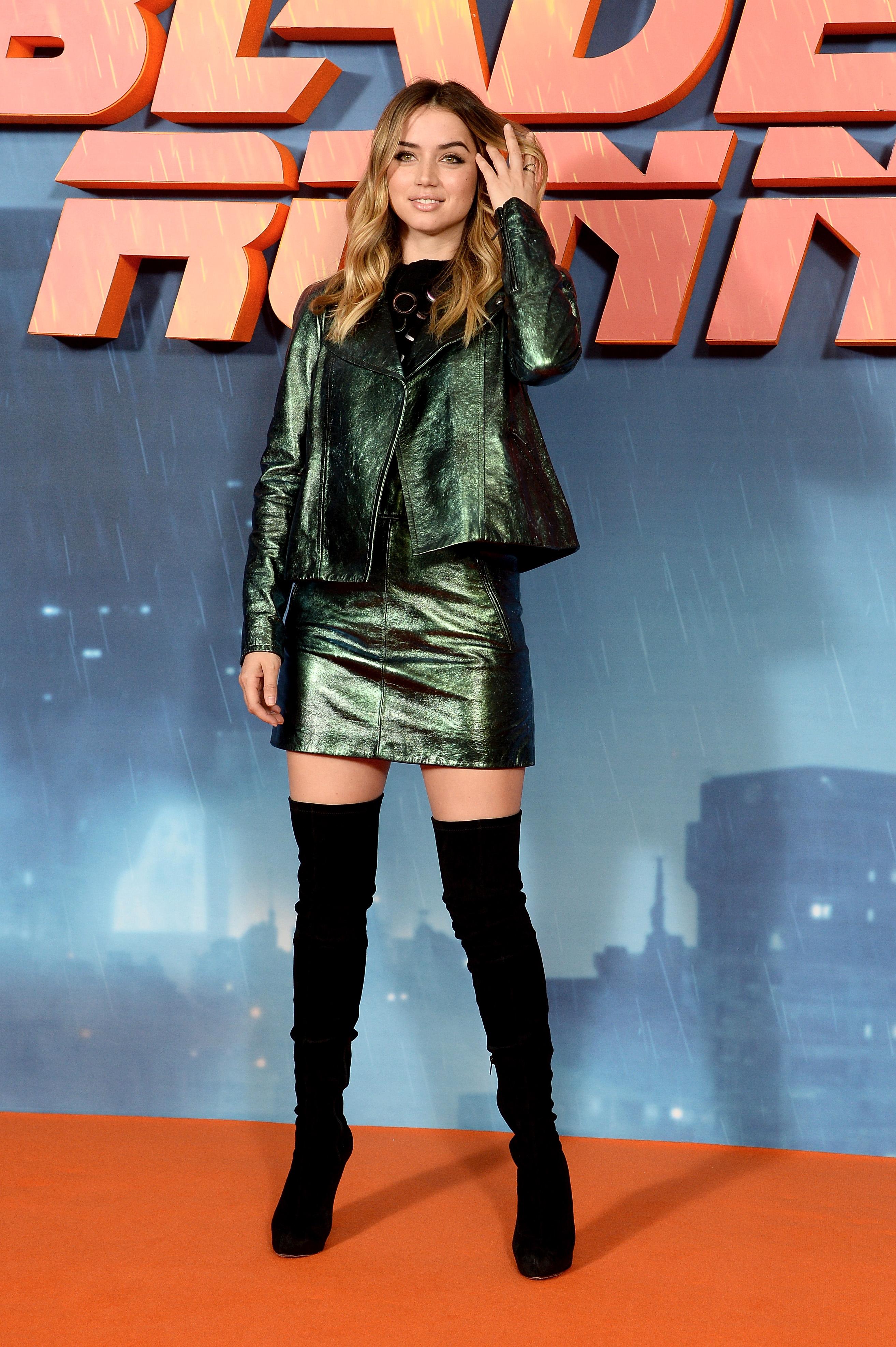 Ana de Armas, look, estilo, moda, style, blade runner