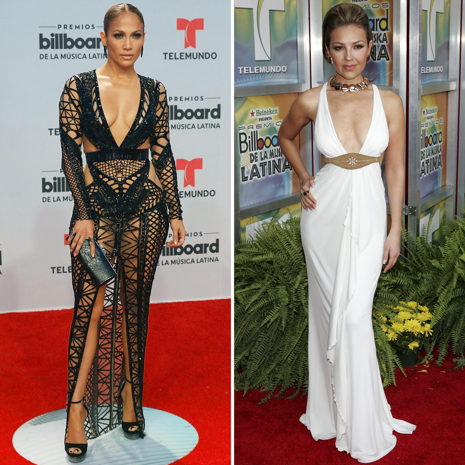 Jennifer Lopez y Thalia