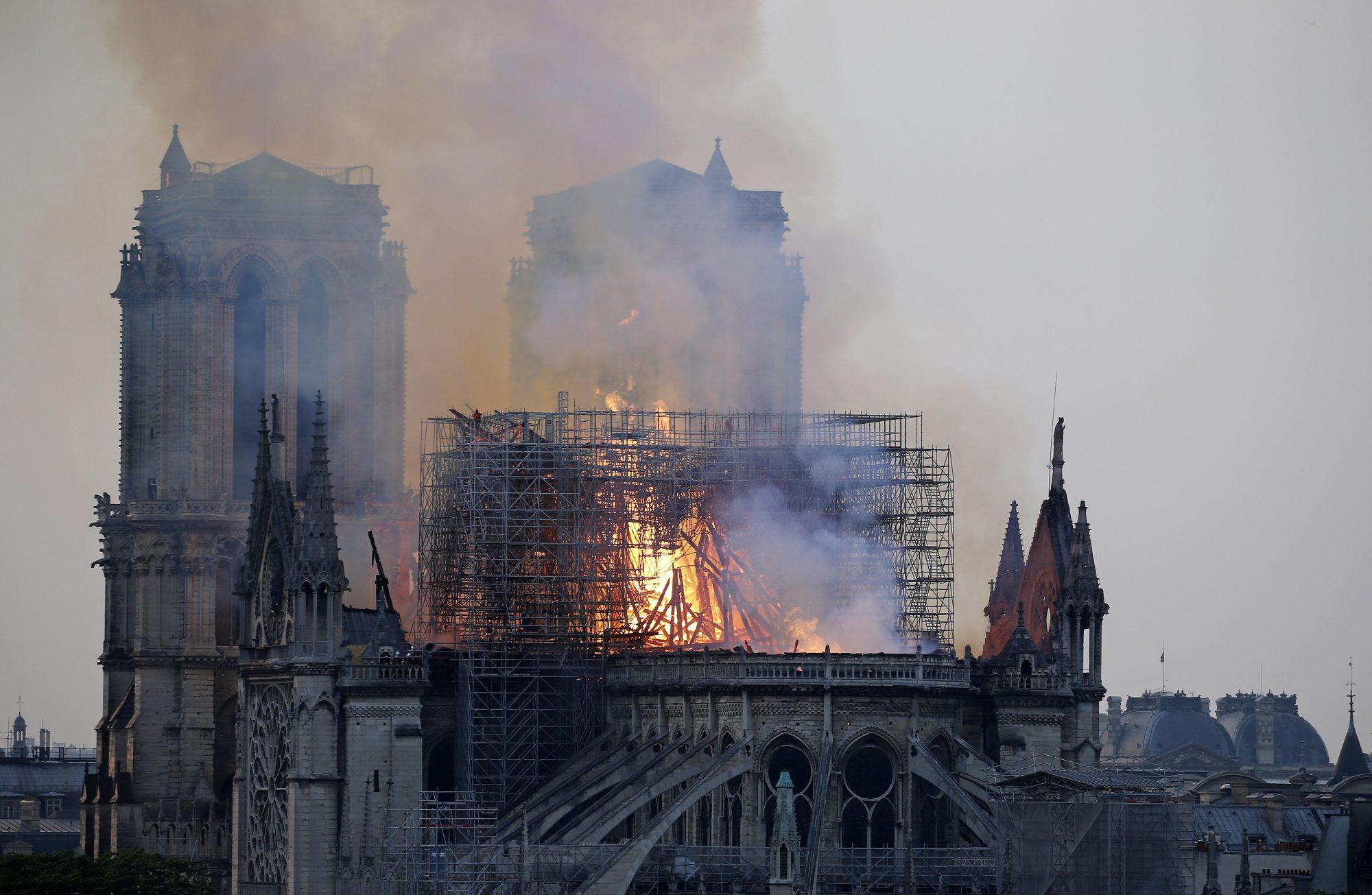 Incendio Catedral Notre Dame