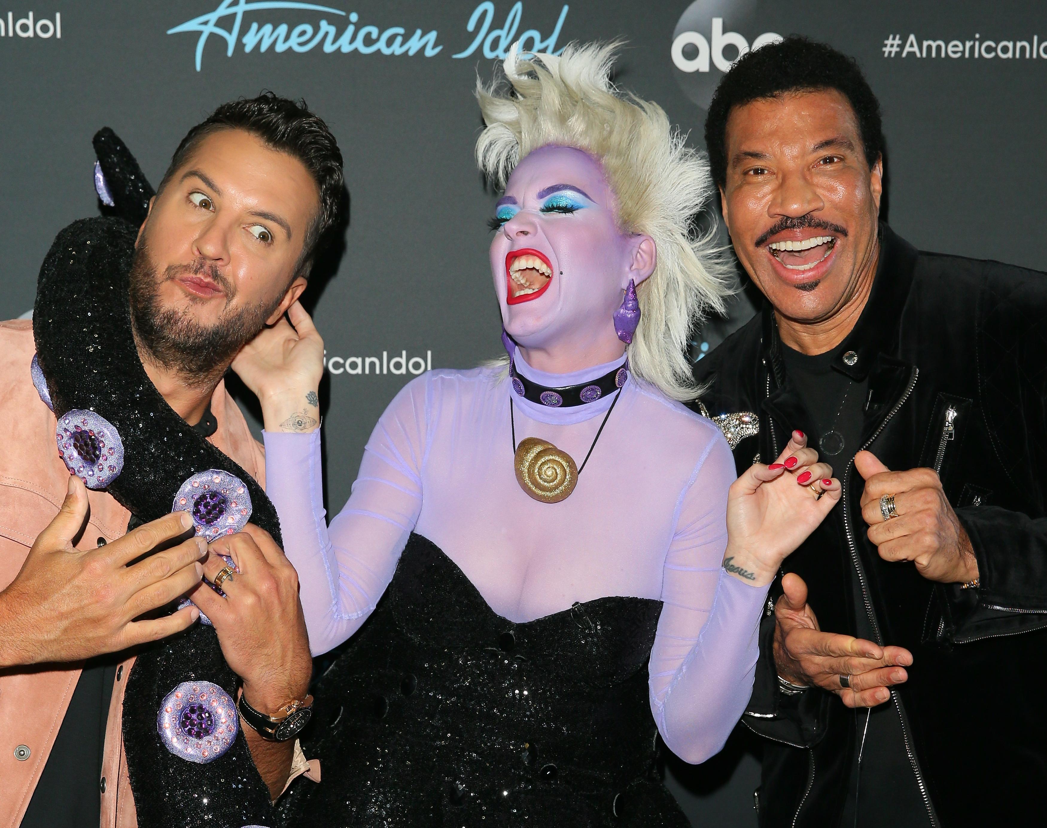 Katy Perry, Lionel Richie, Luke Bryan