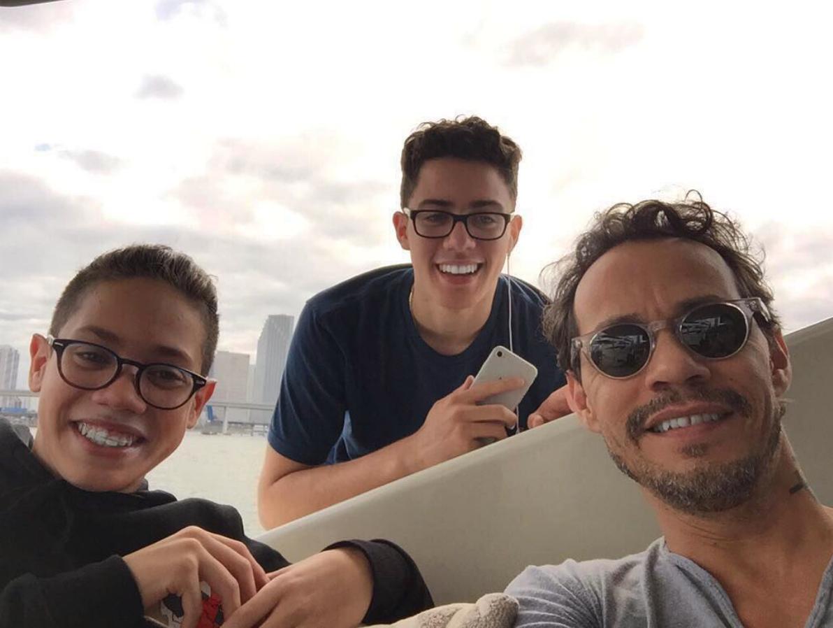 Ryan Muñiz, Cristian Muñíz, Marc Anthony