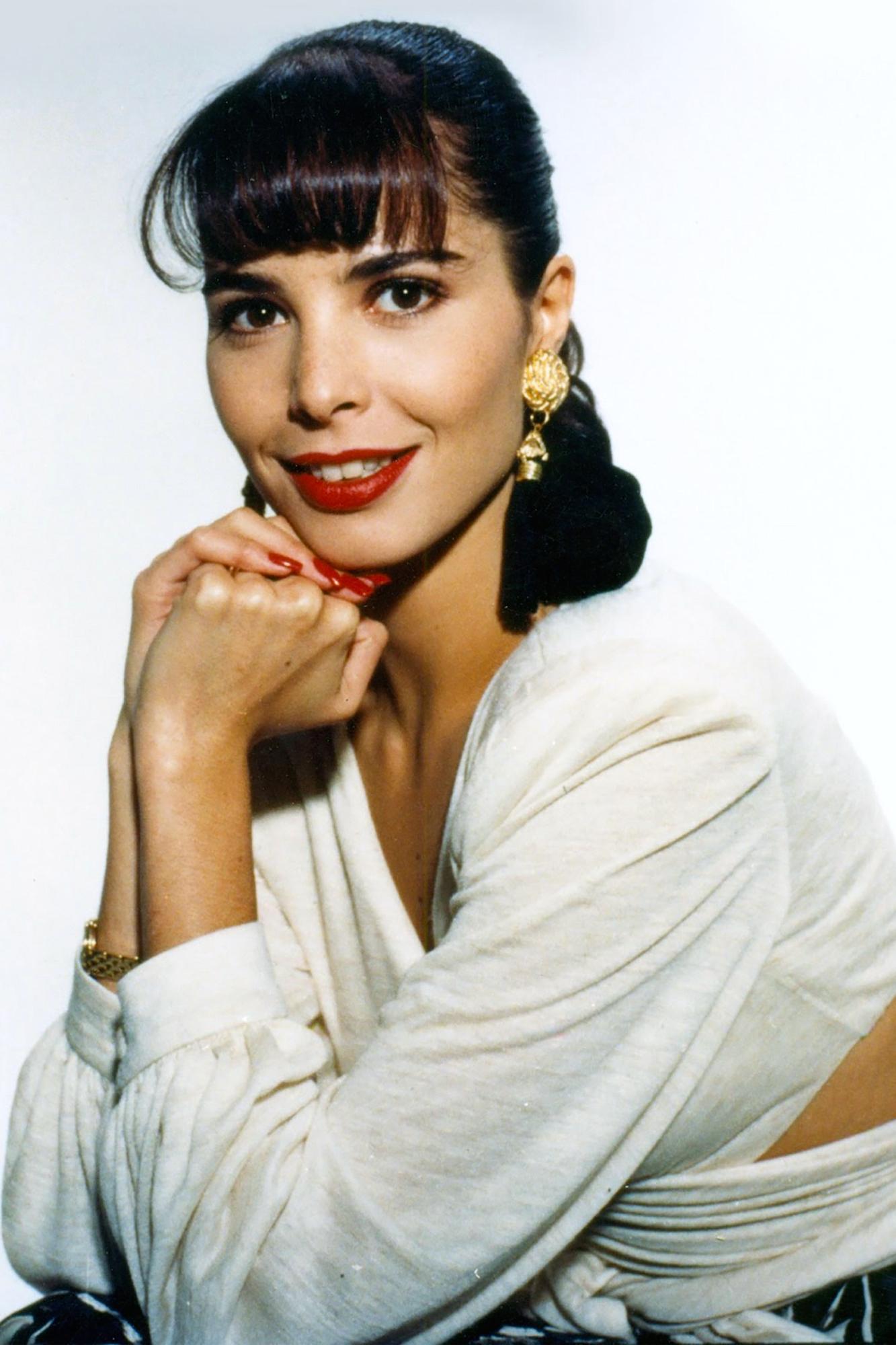 """Mariana Levy recibía su oportunidad en """"La Ultima Esperanza""""/México, 1993."""