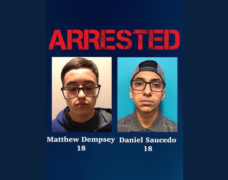 Matthew Dempsey y Daniel Saucedo
