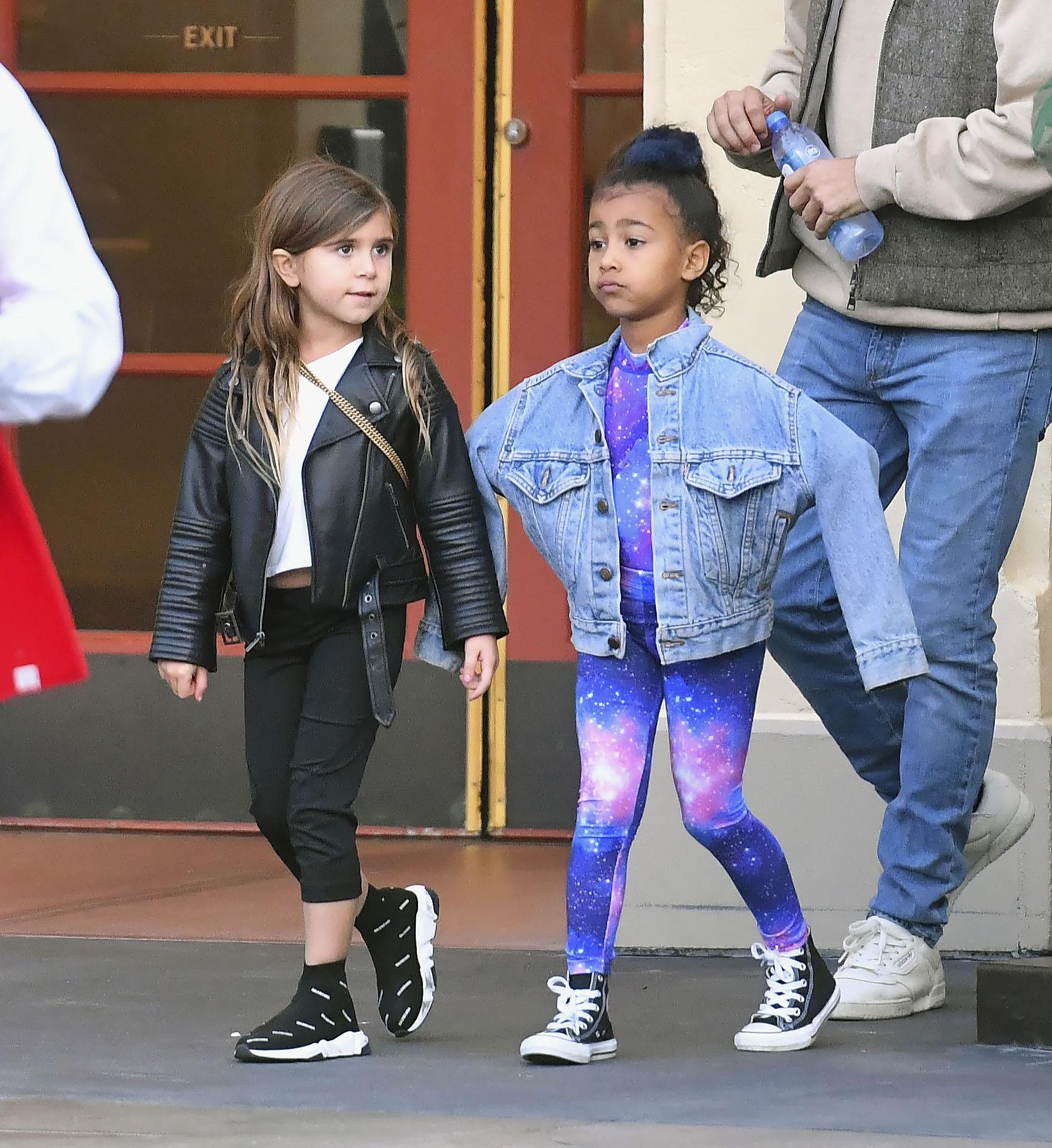 Kardashian, niños, estilo, North West, Penelope Disick