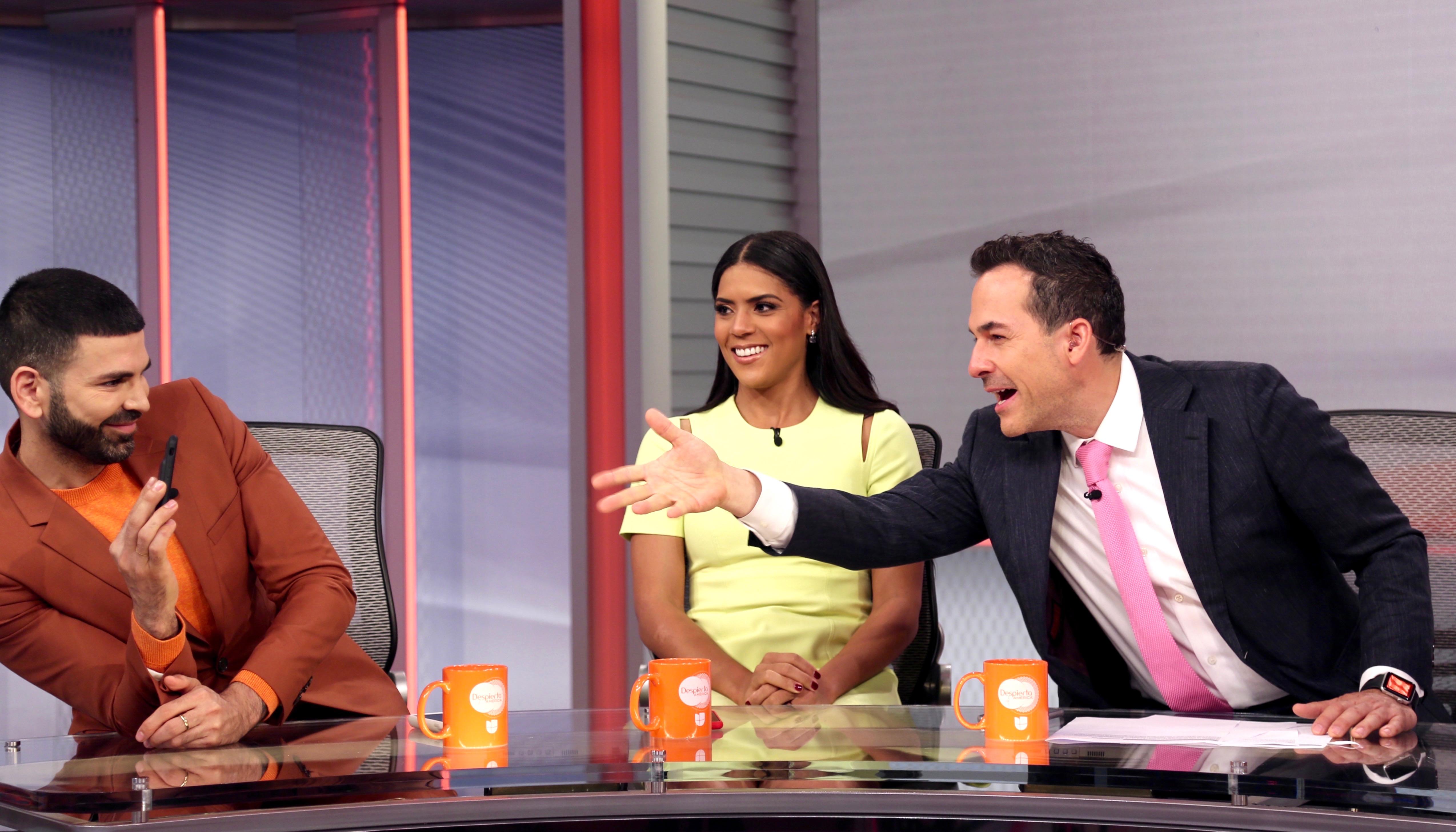 Francisca Lachapel, Carlos Calderón, Jomari Goyso