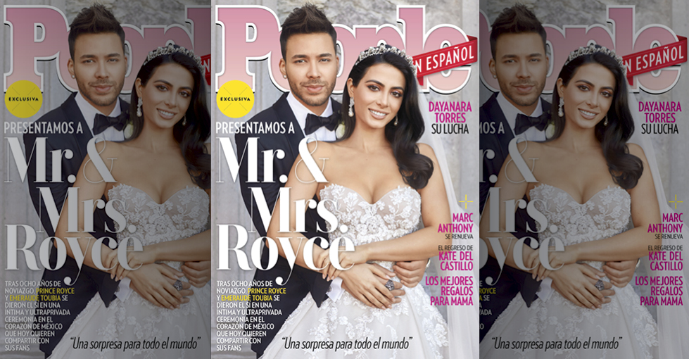 Prince Royce y Emeraude Toubia - May 2019 Cover