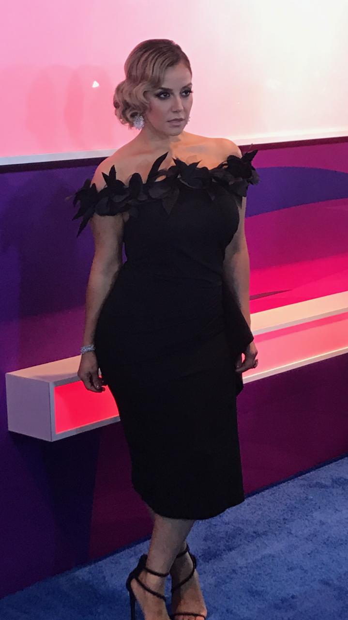 Rosie Rivera, Premios Tu Mundo, 2017, alfombra roja
