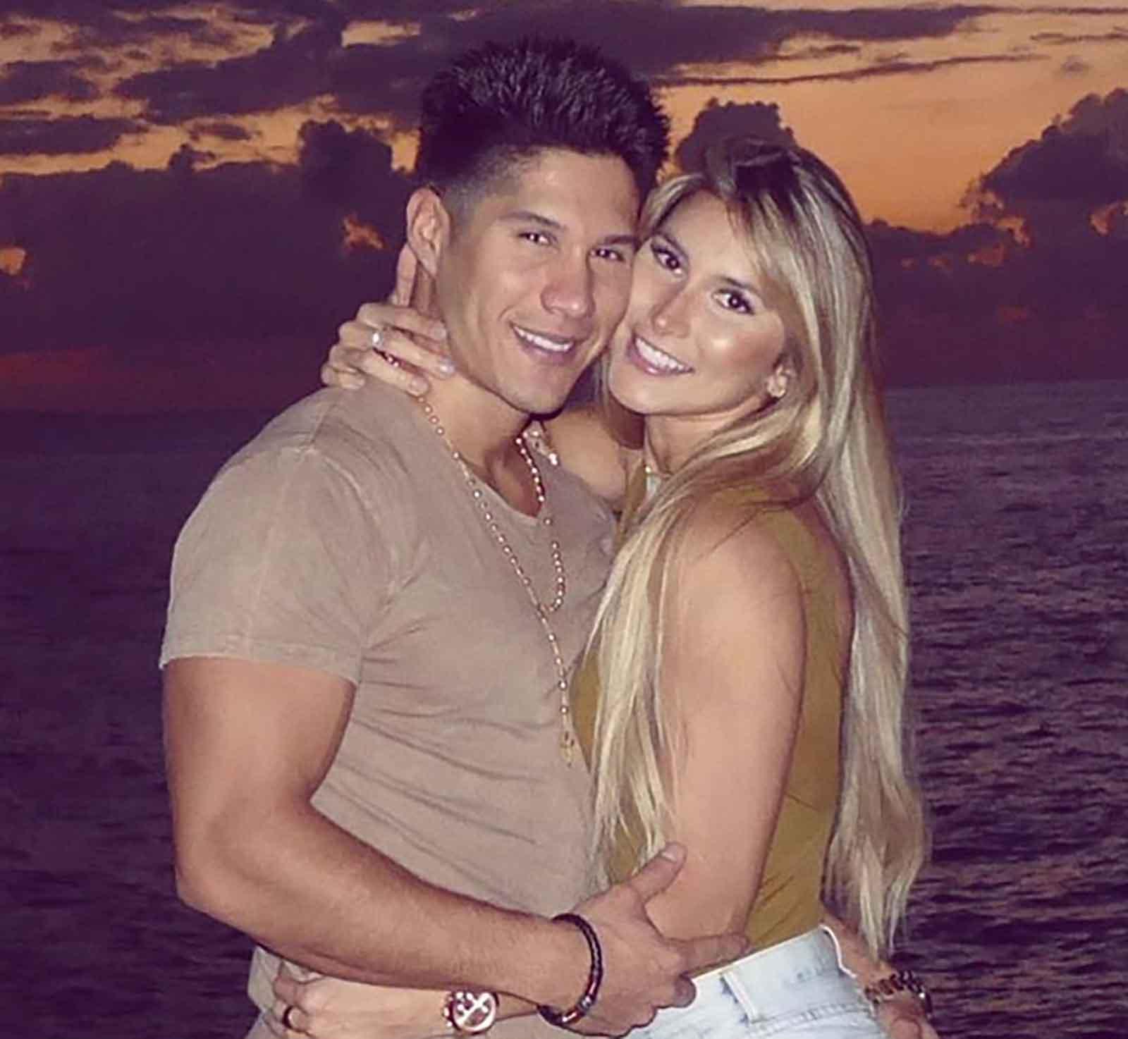 Chyno MIranda y Natasha Oraos