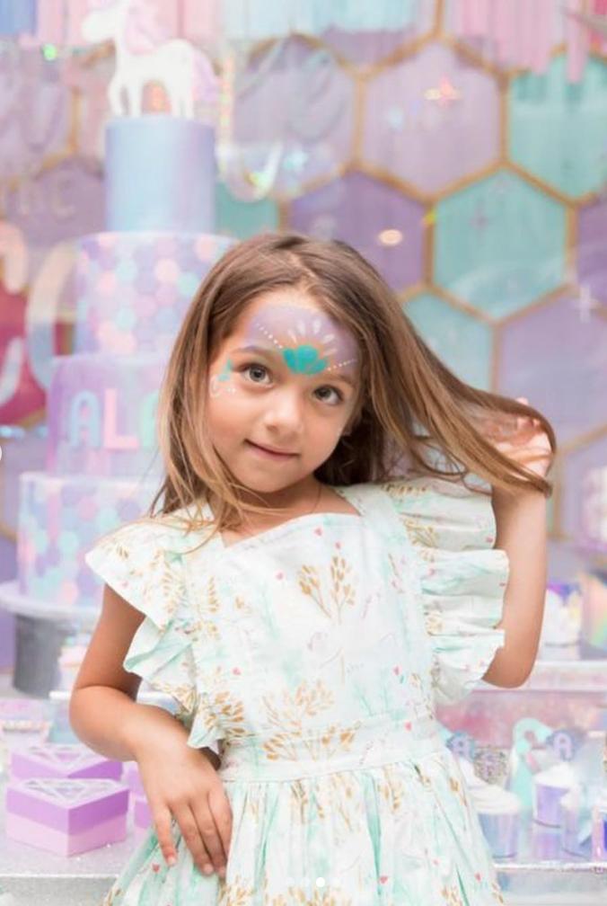 Alaia, Adamari López, niños, moda de niños, vestido