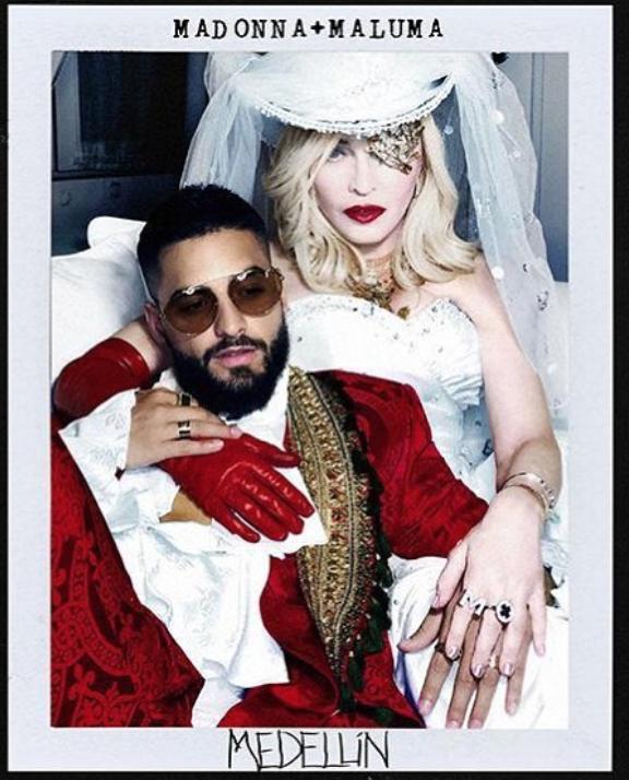 Madonna Maluma