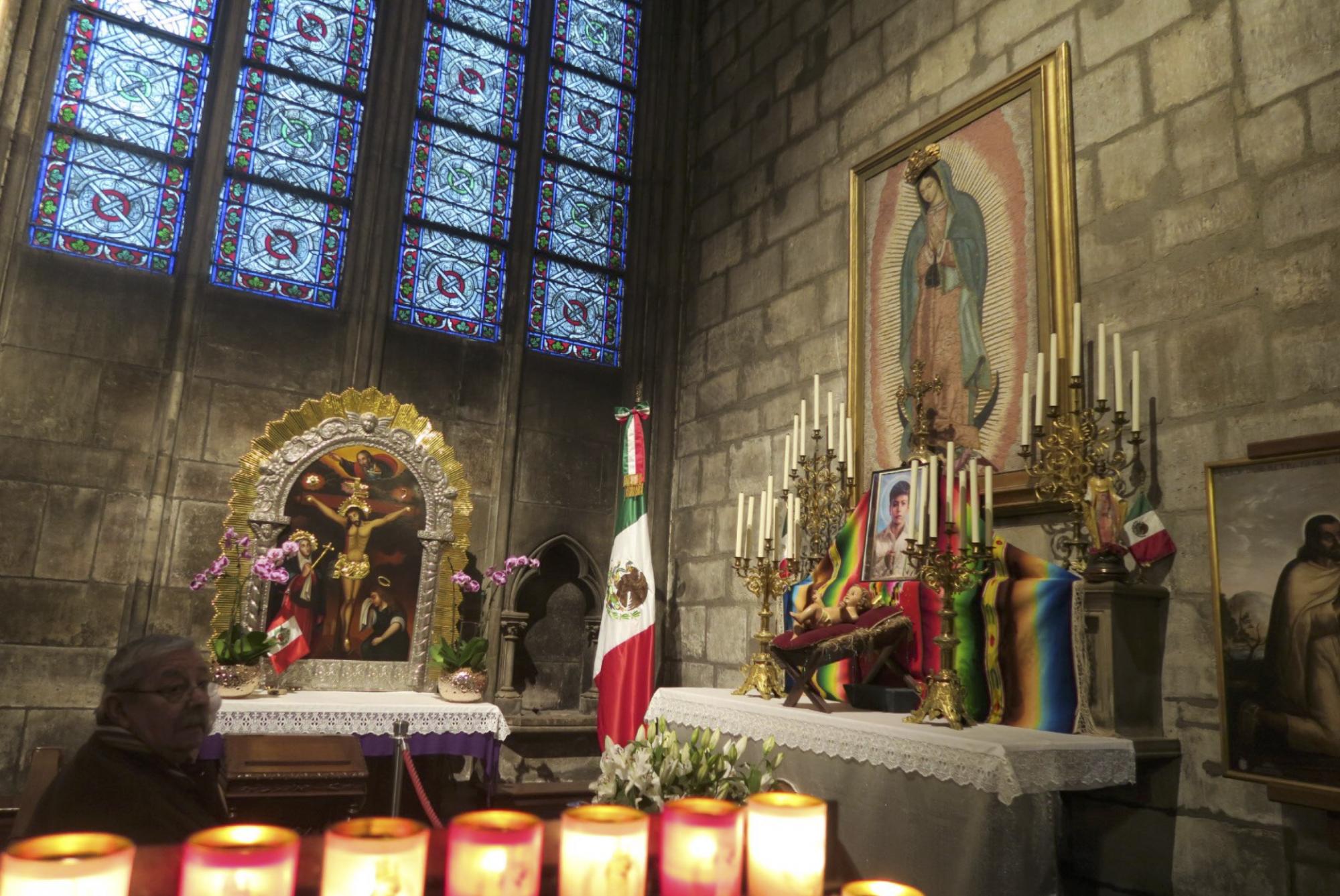 Virgen de Guadalupe en Notre Dame