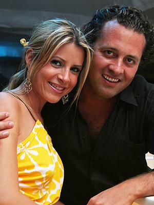 Ernesto Zedillo Jr. con su esposa, Rebeca Sáenz
