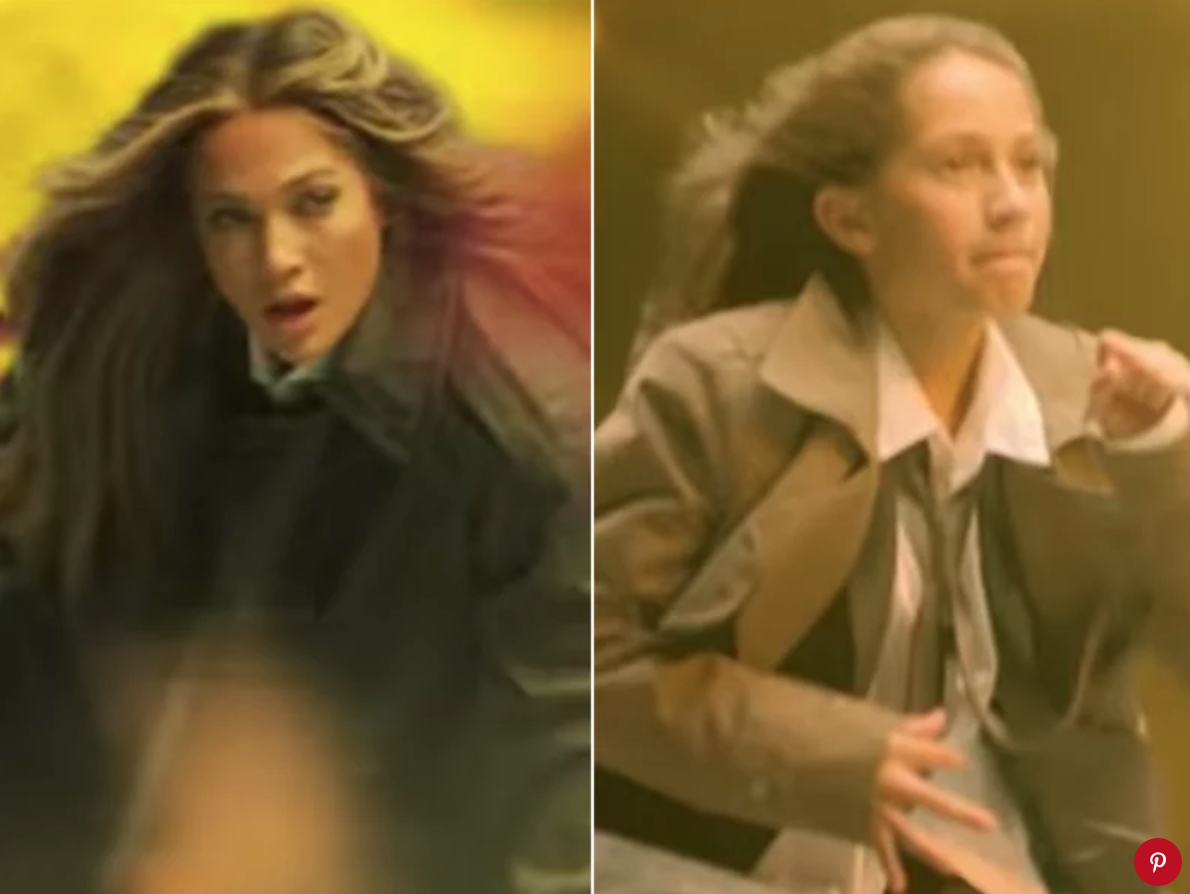 """Jennifer Lopez and her daughter Emme in """"Limitless"""""""